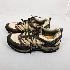 Chaco Brindle Ivory Brown Hiking Shoes